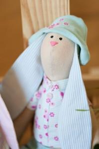 Пасхальный заяц - кукла из Гродно