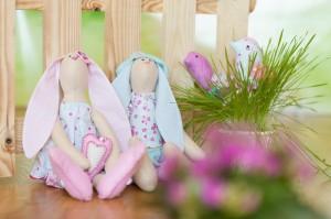 Авторские куклы-зайцы из Гродно