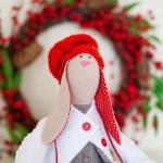 Рождественские зайцы из Гродно, ручная работа