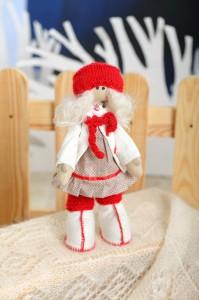 Текстильная Кукла Рябинка