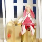 Текстильная кукла Заяц