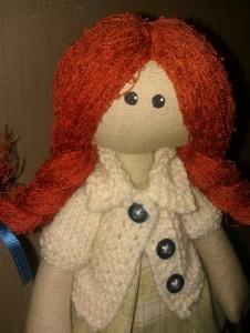 Кукла Рыжик вблизи