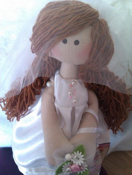Кукла «Невеста» в подарок к свадьбе