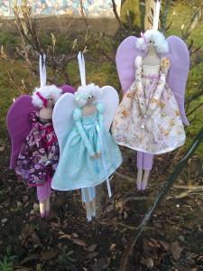 Три куклы ангела